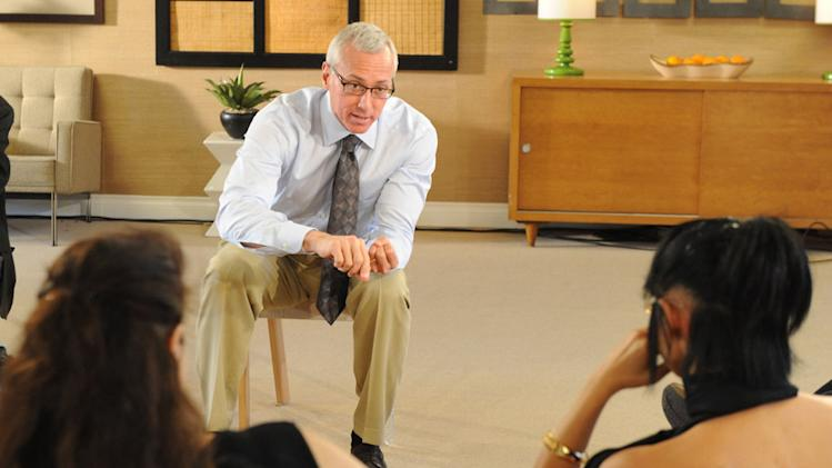"Dr. Drew Pinsky on ""Celebrity Rehab with Dr. Drew."""