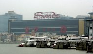 The Macau Ferry Terminal. Twenty-seven people were injured on Saturday in a collision between a Hong Kong-bound passenger ferry and a buoy in Macau, authorities said