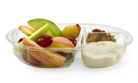 A McDonald&#39;s Snack Size Fruit & Walnut Salad in an image courtesy of the company. REUTERS/McDonald&#39;s