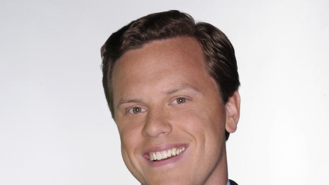 "This undated photo provided by NBC shows Willie Geist, host of ""Way Too Early with Willie Geist,"" co-host of ""Morning Joe"" and NBC News contributor, in New York. (AP Photo/NBC, Ali Goldstein)"