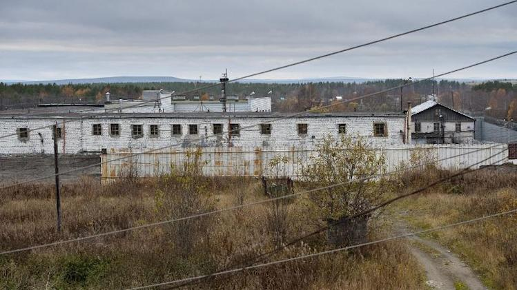 Greenpeace picture on October 4, 2013, of the Apitity Detention Centre, Murmansk Oblast, where eight Greenpeace activists are held on remand