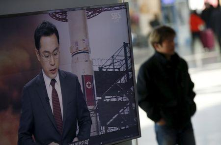 North Korean rocket puts object into space, angers neighbors, U.S.