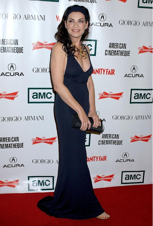 Julianna Margulies of Canterbury's Law at the 21st Annual American Cinematheque Award Honoring George Clooney.