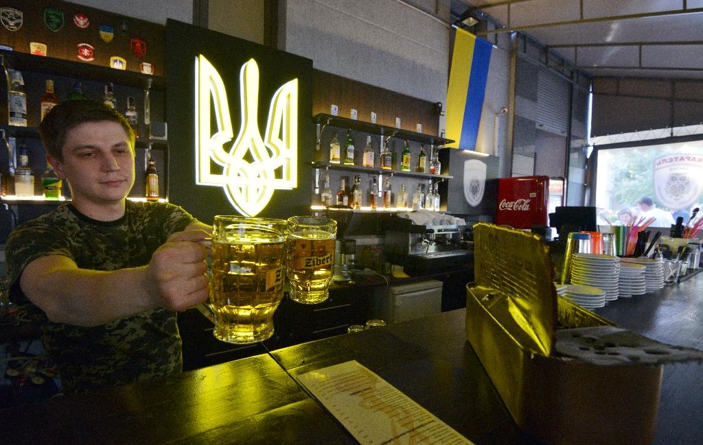 Full-house in Kiev bar inspired by Russian propaganda