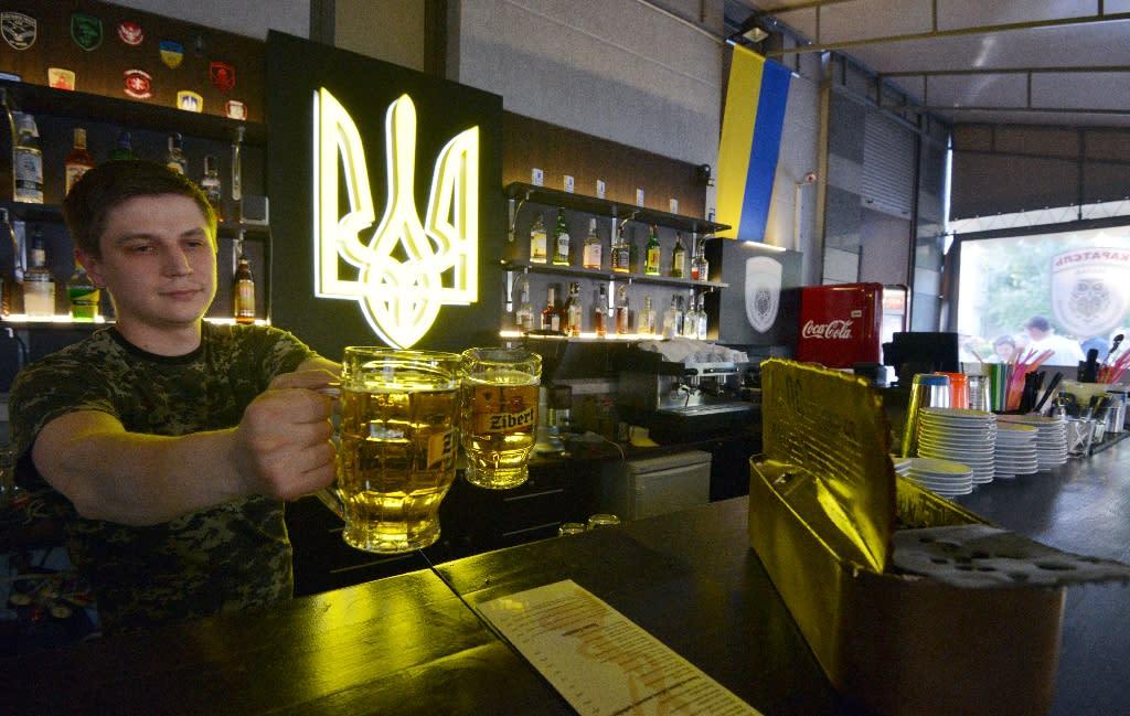 Full-house in Kiev bar inspired by Russian propaganda