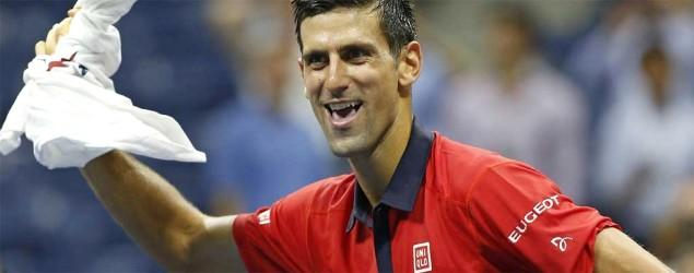 Djokovic dances with fan on court after Open win