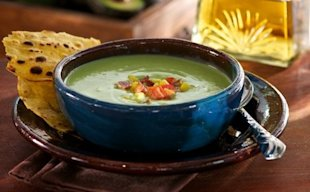 Tequila Avocado Soup