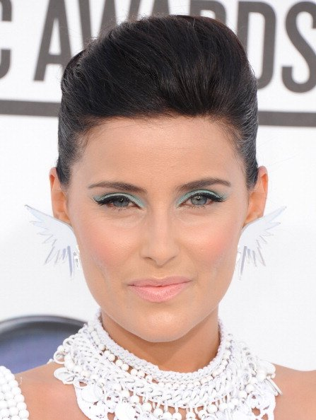 TREND: Blue and green eyeshadow