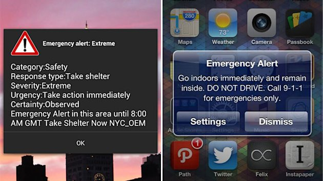 Why Many Didn't Get Sandy Phone Alerts (ABC News)