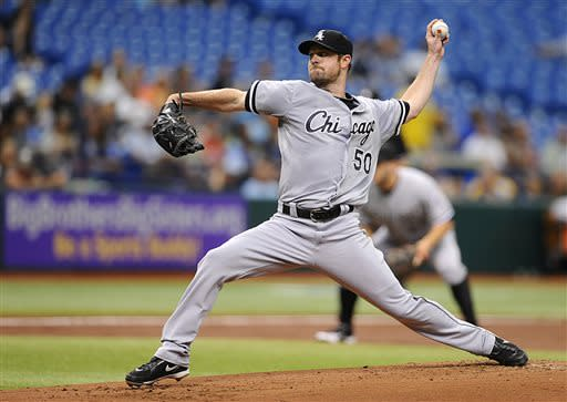 Price helps Rays sweep White Sox