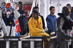Survivors Of The Recent Mediterranean Refugee Shipwreck…
