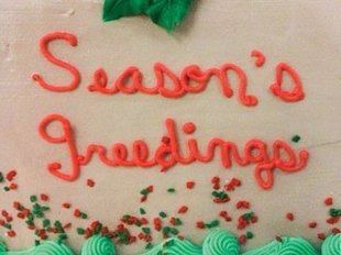 Seasons Greedings