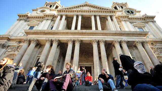 'Occupy' Protesters Force St. Paul's Cathedral to Close