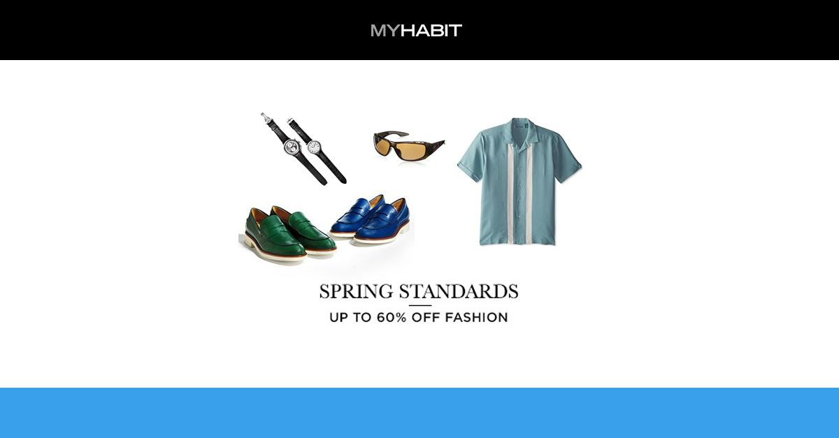 Spring Must-Haves for Men's Fashion 2015