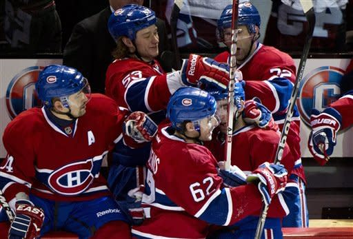 Wolski scores in shootout as Panthers top Habs 3-2
