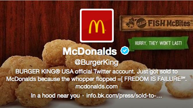 Burger King apologizes after Twitter hacking