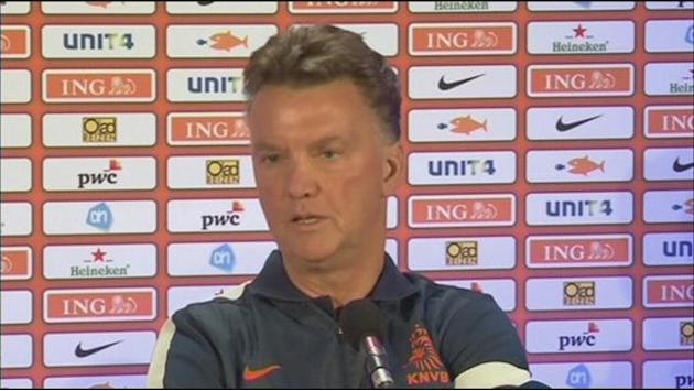 World Cup - Van Gaal wary of Estonia
