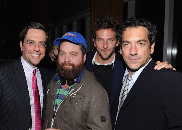 The Hangover Part II 2011 NYC Screening Ed Helms Zach Galifianakis Bradley Cooper Todd Phillips