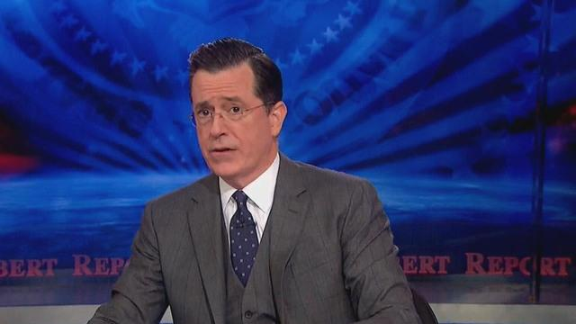 "Stephen Colbert signs off ""Colbert Report"" with celebrity-filled sing-along"