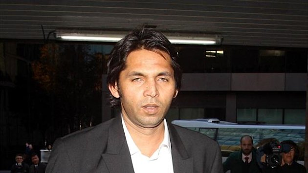 Mohammad Asif was banned from playing cricket by the International Cricket Council