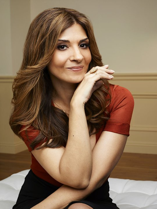 "Callie Thorne stars as Danielle Santino in ""Necessary Roughness."""