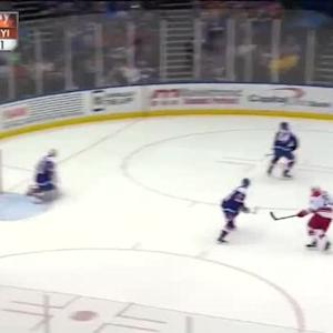 Chad Johnson Save on Jay McClement (06:21/2nd)