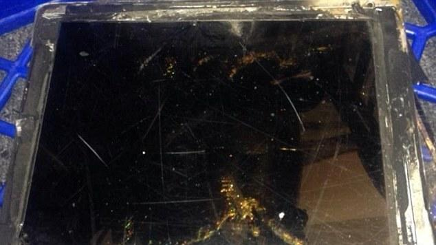 Exploding iPad Air apparently wasn't an iPad Air at all