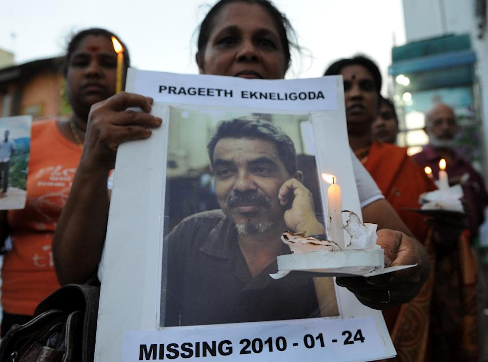 4 Army Officers Arrested Over Killing Of Journalist In Sri Lanka
