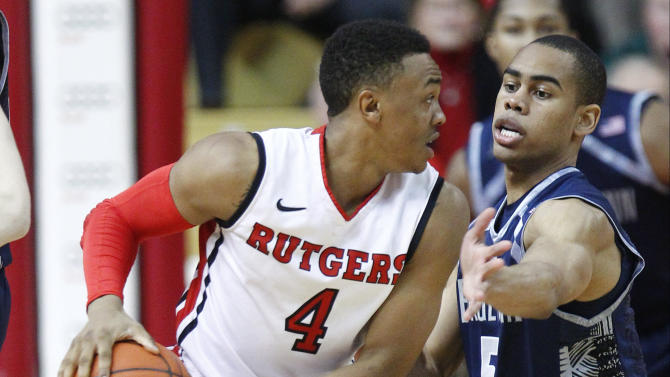 NCAA Basketball: Georgetown at Rutgers