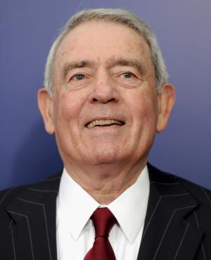 """FILE- In this Wednesday, Oct. 5, 2011, file photo, Journalist Dan Rather attends the premiere of """"The Ides of March"""" at the Ziegfeld Theatre in New York. Retired CBS anchorman Dan Rather says his lawsuit against his former network was worth it, even though the $70 million breach-of-conduct case was rejected by New York courts. (AP Photo/Evan Agostini)"""