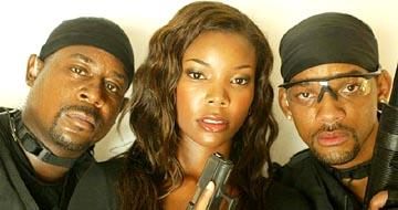 Martin Lawrence , Gabrielle Union and Will Smith in Columbia's Bad Boys II