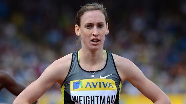 Great Britain's Laura Weightman after finishing the Women's 1500m at the Olympics (PA Photos)
