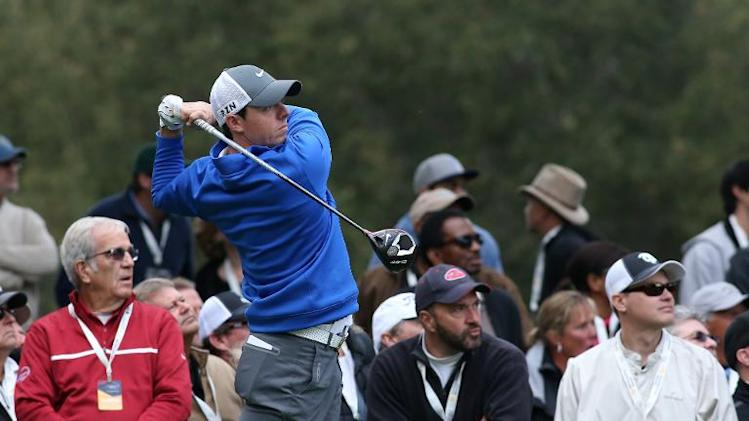 Rory McIlroy hits his tee shot on the second hole during the second round of the Northwestern Mutual World Challenge at Sherwood Country Club on December 6, 2013 in Thousand Oaks, California