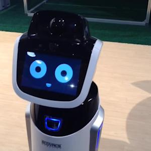 CES 2015: Benebot Is An Ultra-Cute Robotic Shopping Assistant
