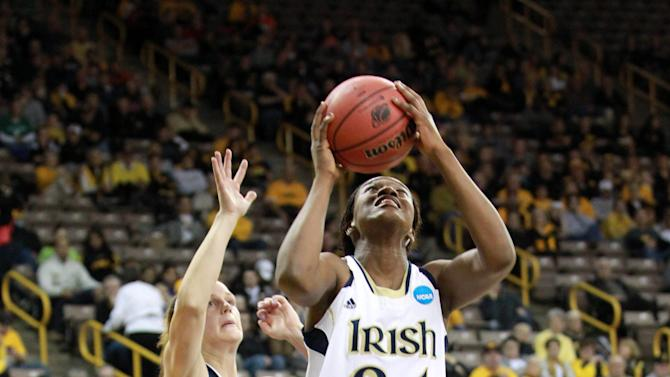 NCAA Womens Basketball: NCAA Tournament-Notre Dame vs Tennessee-Martin