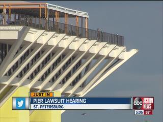 St. Petersburg Pier lawsuit hearing under way