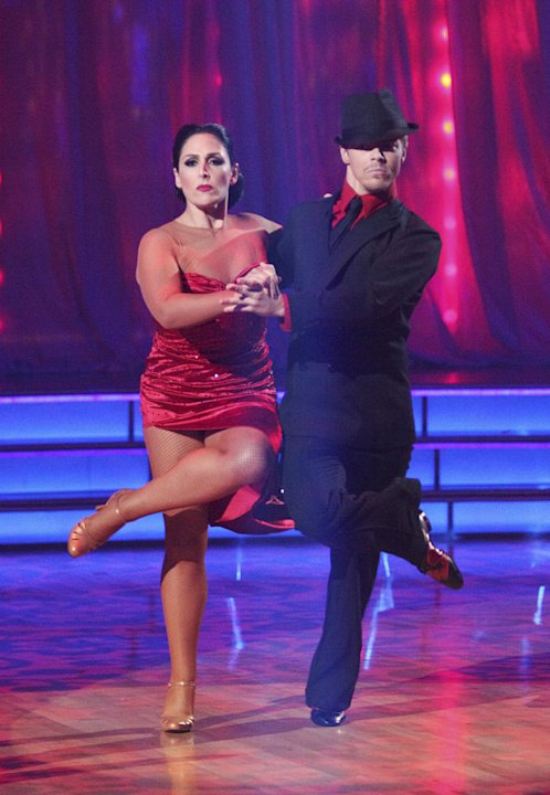 Derek Hough and Ricki Lake perform on &quot;Dancing With the Stars.&quot; 
