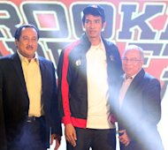 Aldrech Ramos was picked by Barako Bull but later traded to B-Meg. (PBA Images)