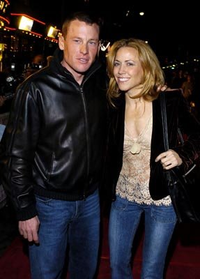 Sheryl Crow with Lance Armstrong at the LA premiere of Universal's Along Came Polly