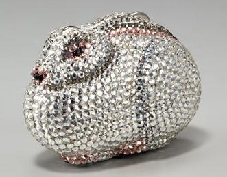 Rabbit Handbag/Pillbox, $695