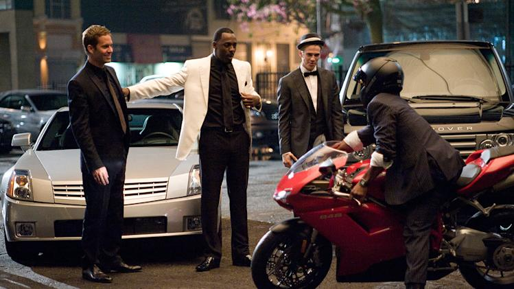 Takers Screen Gems 2010 Production Photos Paul Walker Idris Elba Hayden Christensen