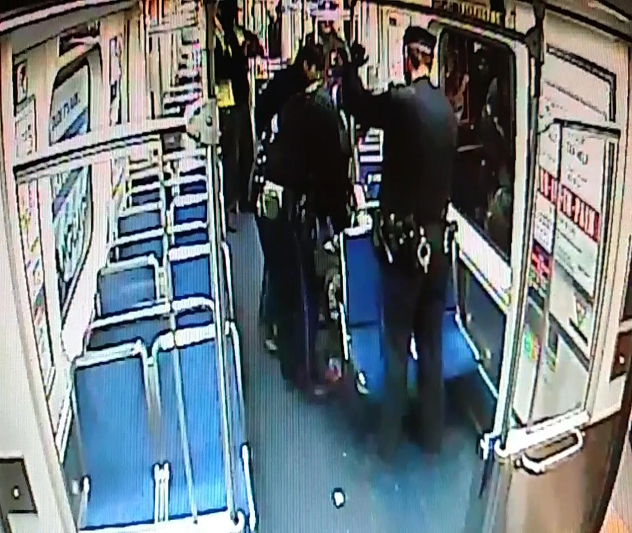 Transit officers help mother deliver baby on train