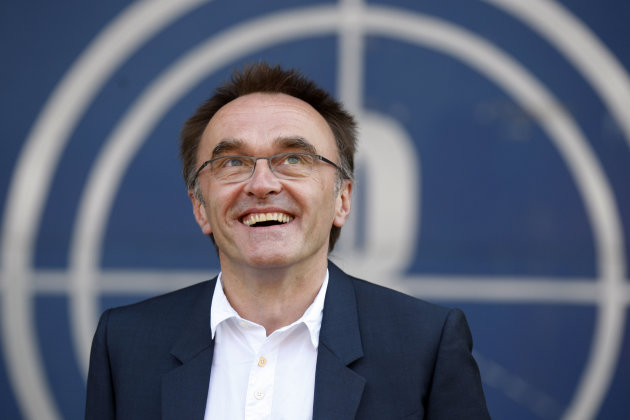 FILE - The June 17, 2010 file photo shows Danny Boyle, the Oscar-winning director of &quot;Slumdog Millionaire,&quot; as he speaks to the media in east London after being appointed to oversee the opening ceremony of the 2012 London Olympics. (AP Photo/Sang Tan)