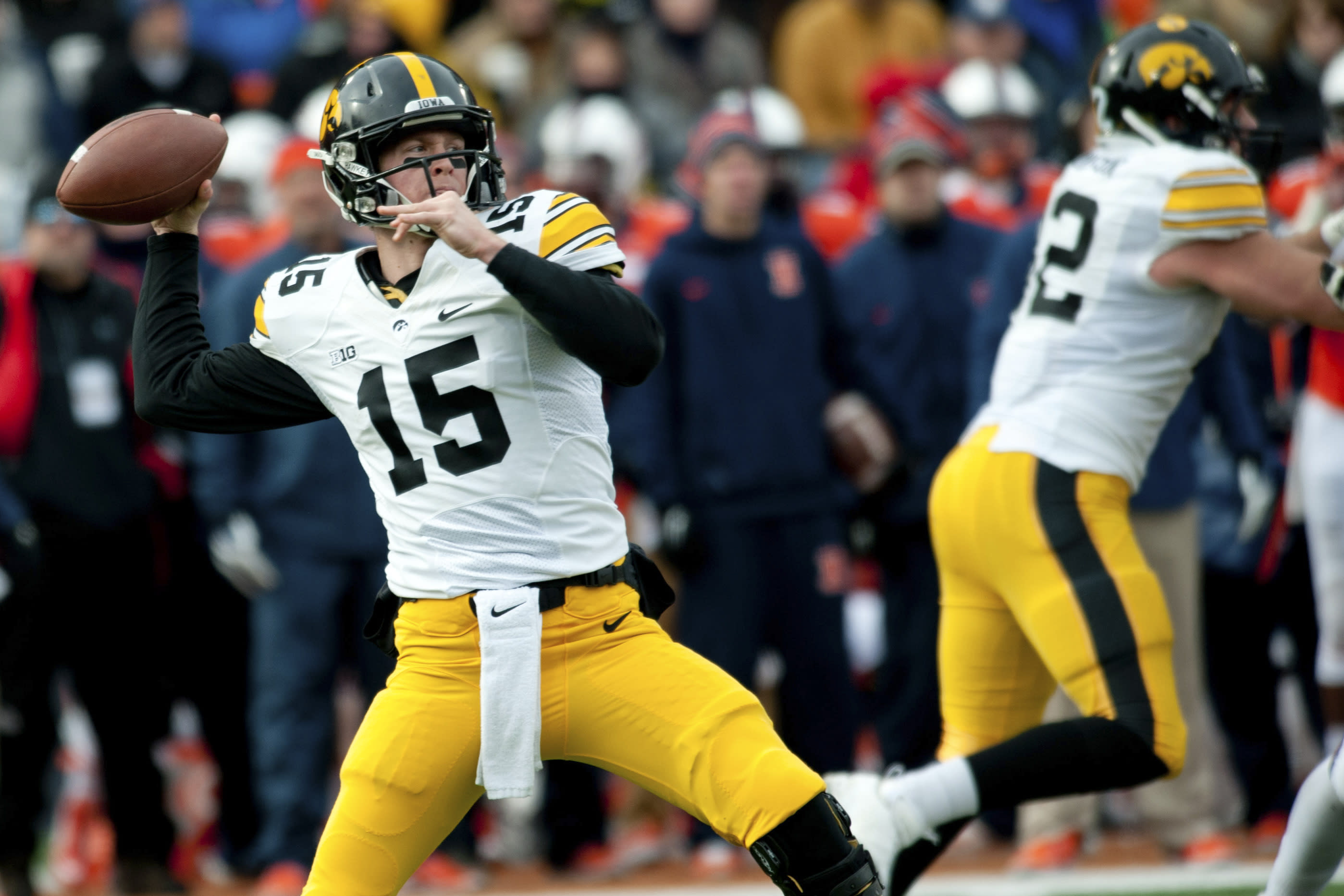 Reports: Ex-Iowa QB Jake Rudock could be headed to Michigan