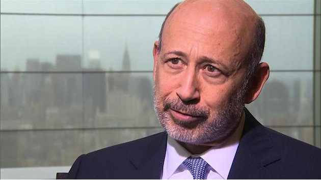 Goldman Sachs CEO on same-sex …