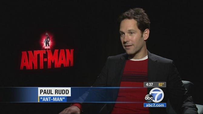 Paul Rudd, Michael Douglas on making of 'Ant-Man'