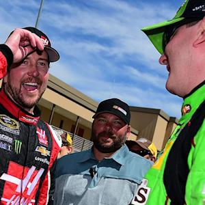 Kurt happy for little brother at Sonoma