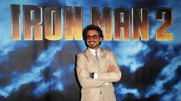 Iron Man 2 Photocall 2010 Robert Downey Jr