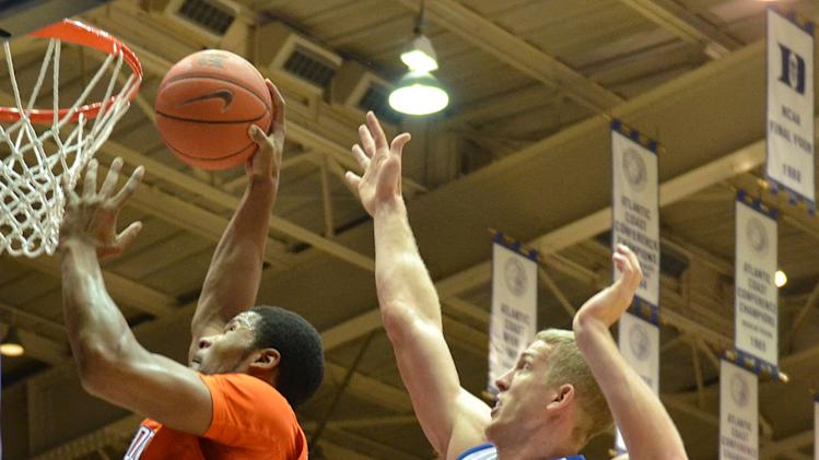 NCAA Basketball: Clemson at Duke