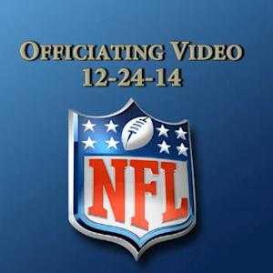 Week 16: NFL officiating video